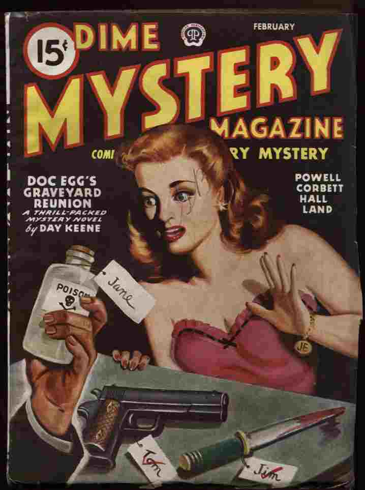 Image for Dime Mystery 1946 02 (Vol 33 #1)
