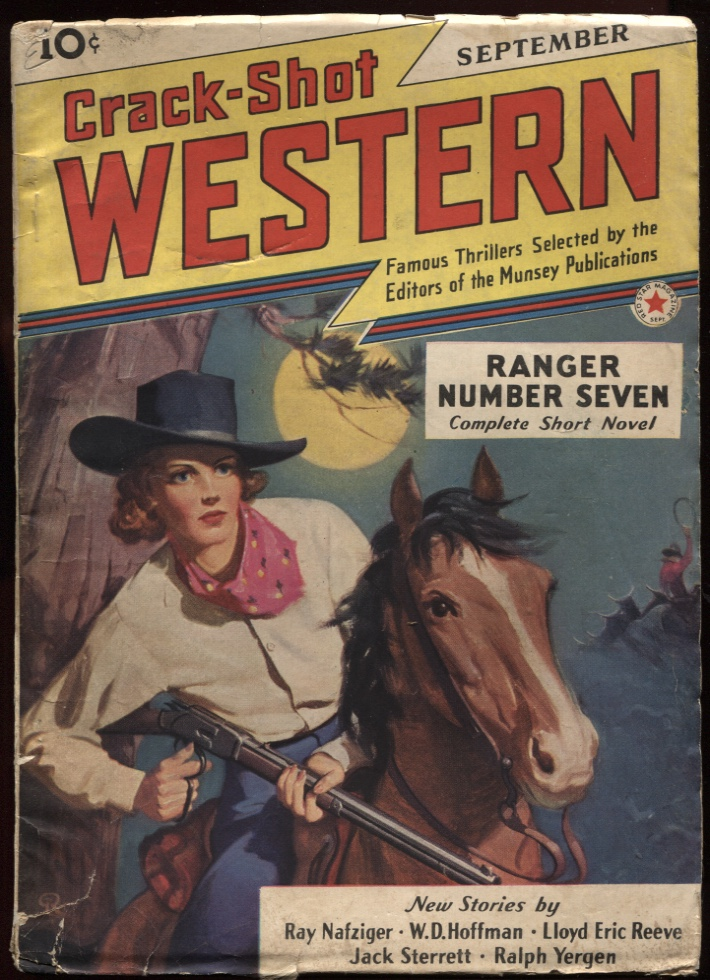 Image for Crack Shot Western 1941 September.