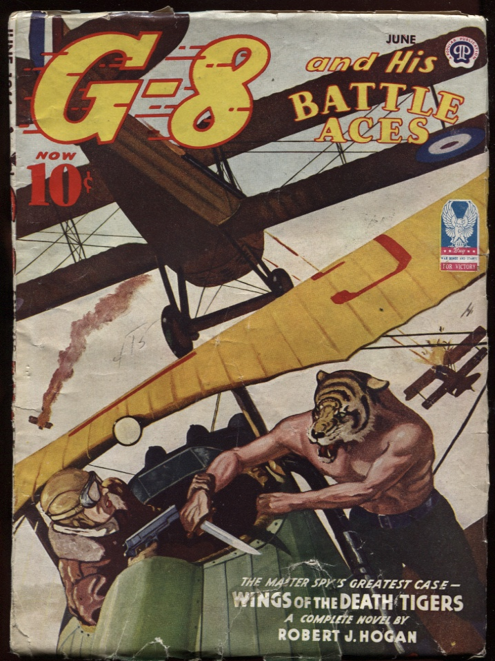 Image for G-8 and His Battle Aces. 1944 June.
