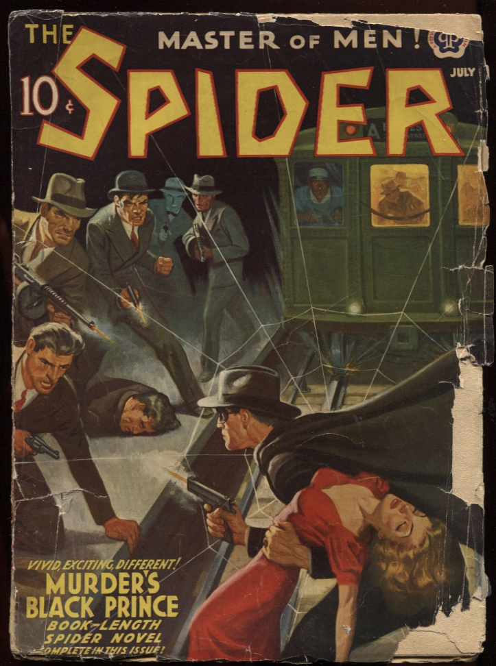 Image for Spider, The. 1941, July.