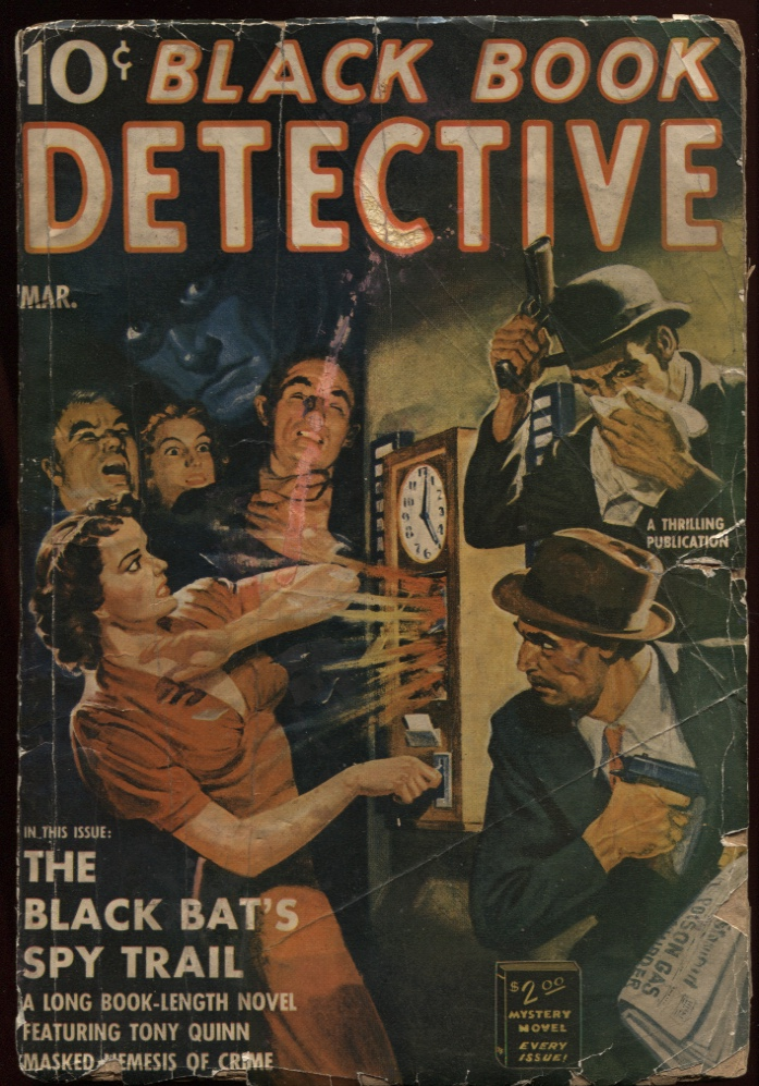Image for Black Book Detective1940 March.
