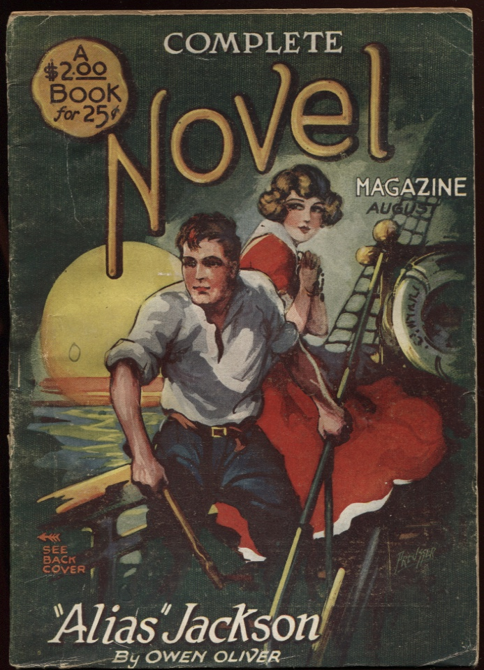 Image for Complete Novel Magazine. 1925 August (#4.)