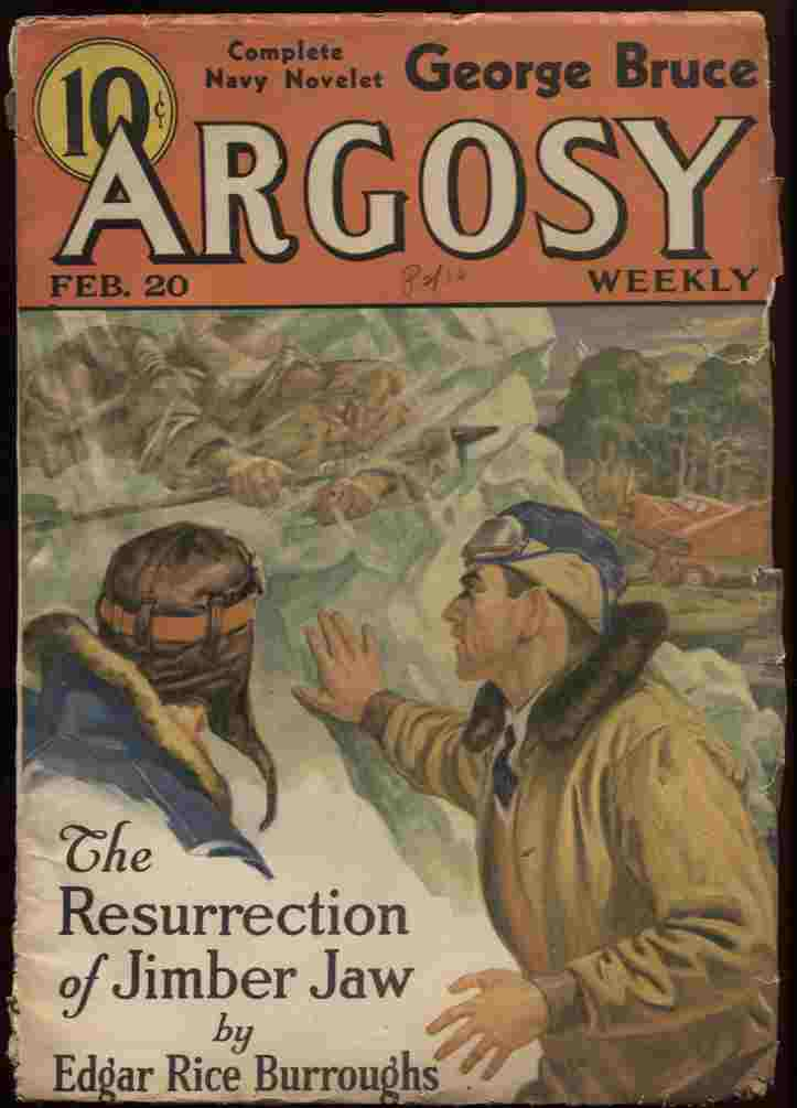 "Image for Argosy Weekly 1937 February 20 (Vol 271 #1). ""The Resurrection of Jimber Jaw."""