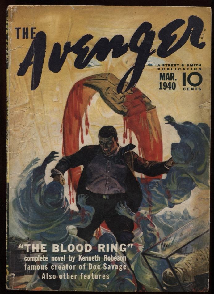 Image for Avenger, The. 1940 March.
