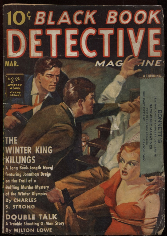 Image for Black Book Detective 1939 March.