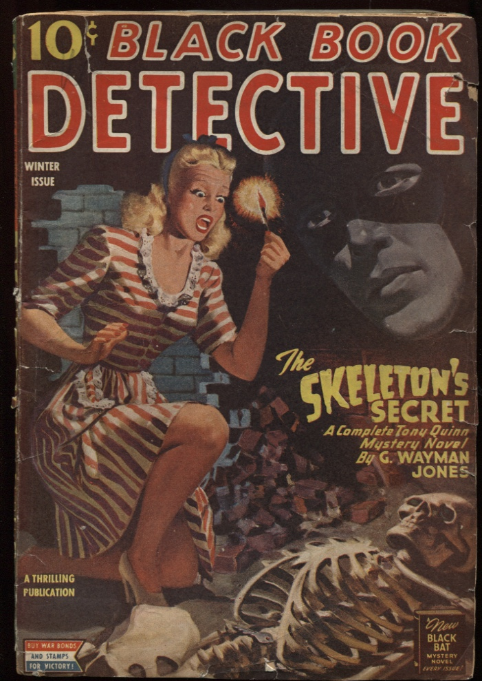 Image for Black Book Detective 1945 Winter.