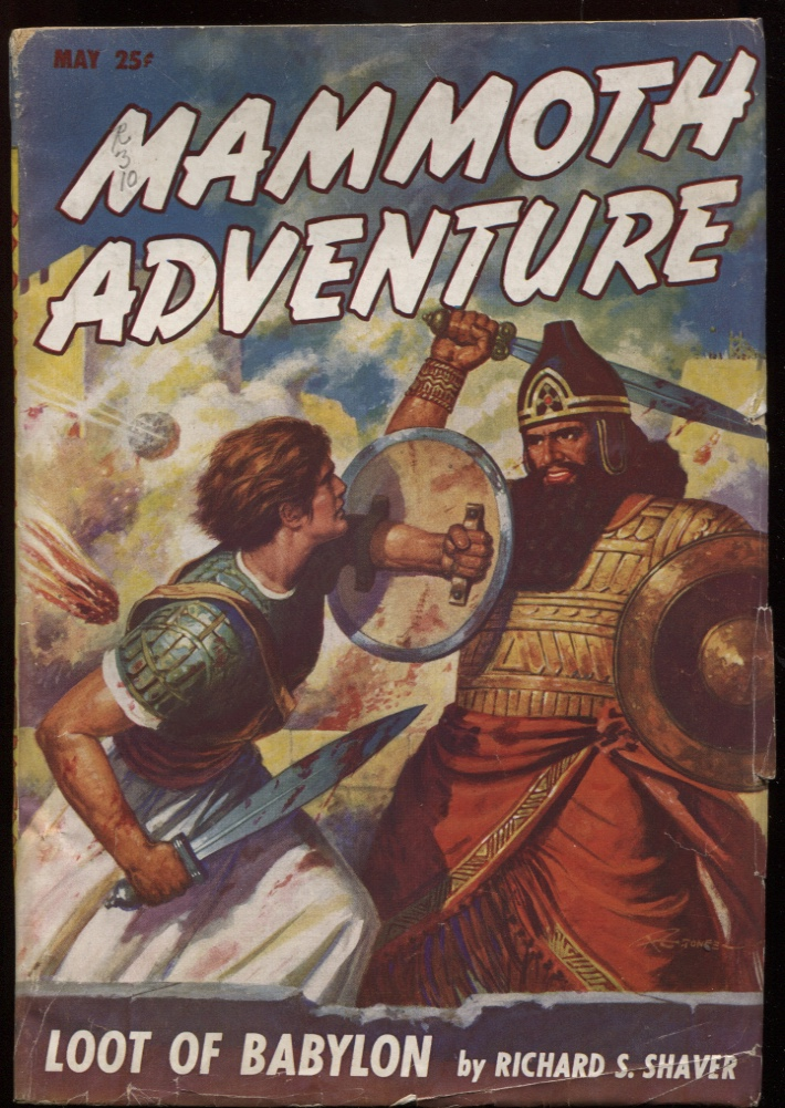 Image for Mammoth Adventure1947 May