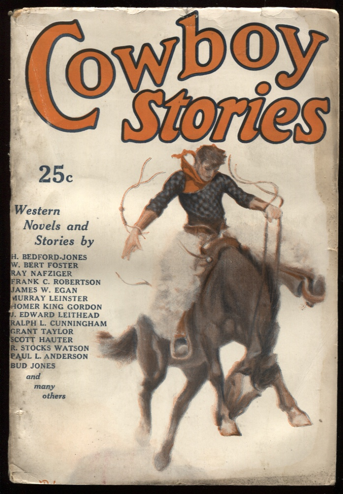 Image for Cowboy Stories May 1925