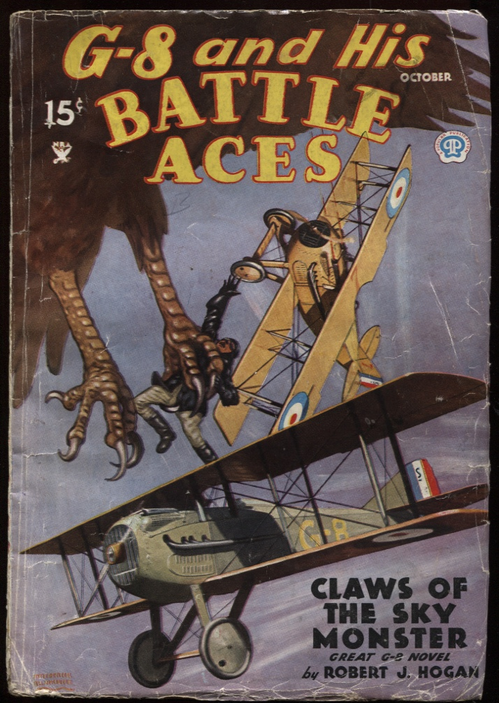 Image for G-8 and His Battle Aces. 1935 October.