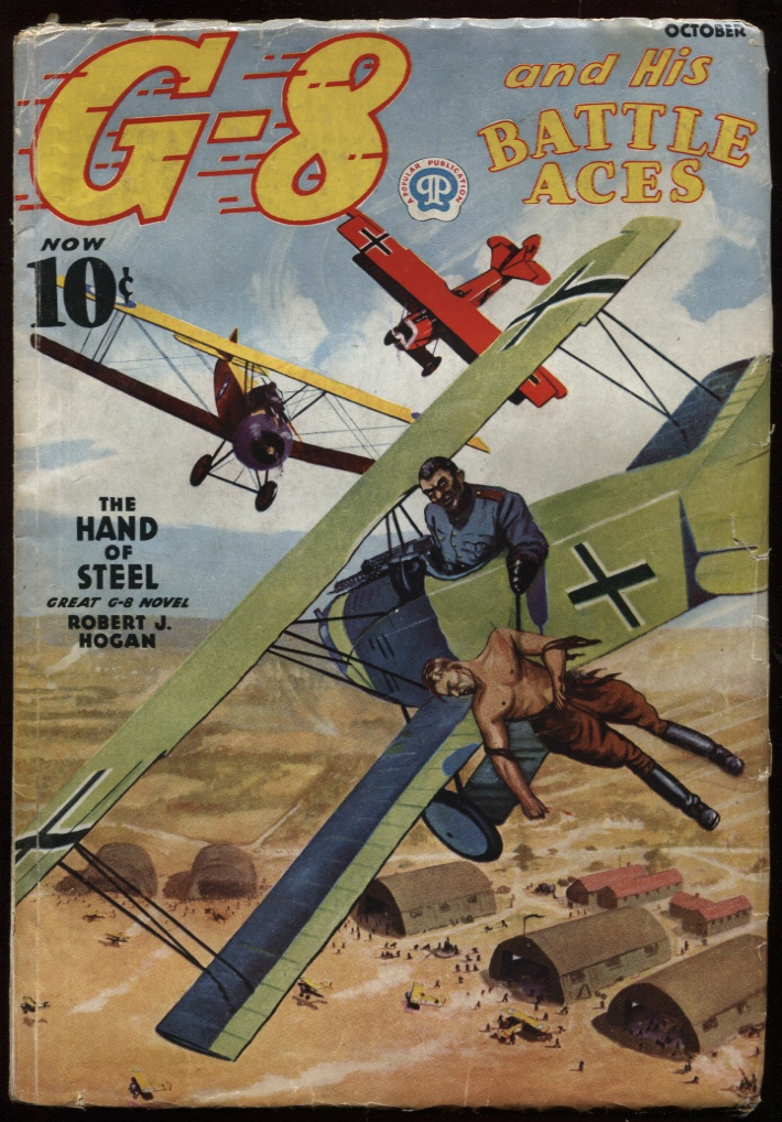Image for G-8 and His Battle Aces. 1937 October.