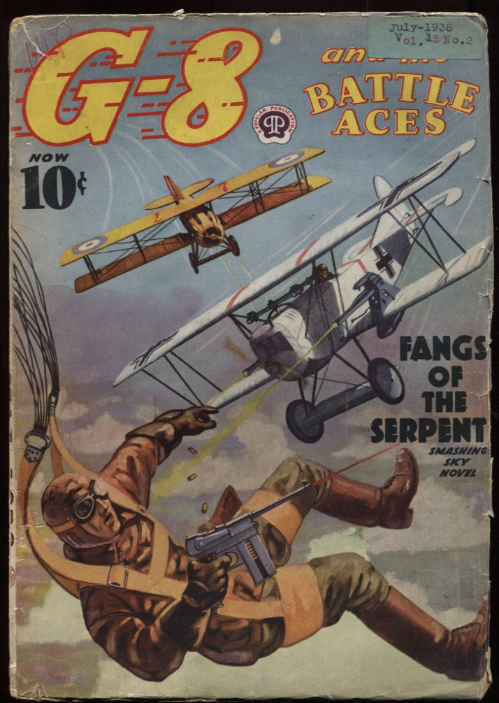 Image for G-8 and His Battle Aces. 1938 July