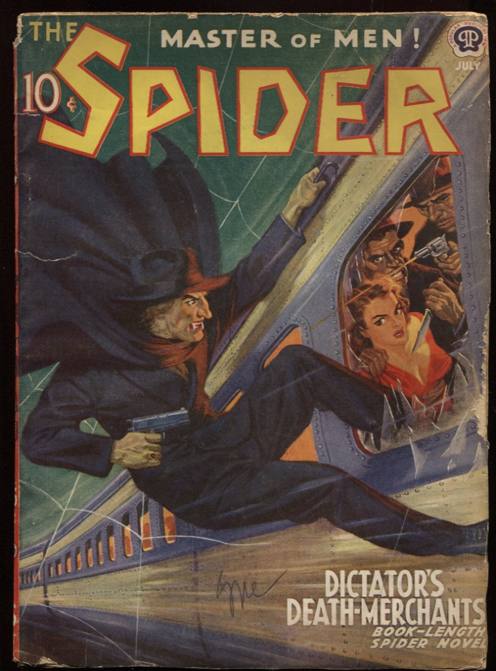 Image for Spider, The. 1940 July.
