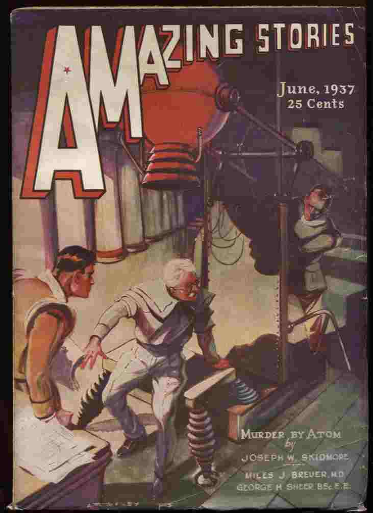 Image for Amazing Stories 1937 June (Vol 11 #3)