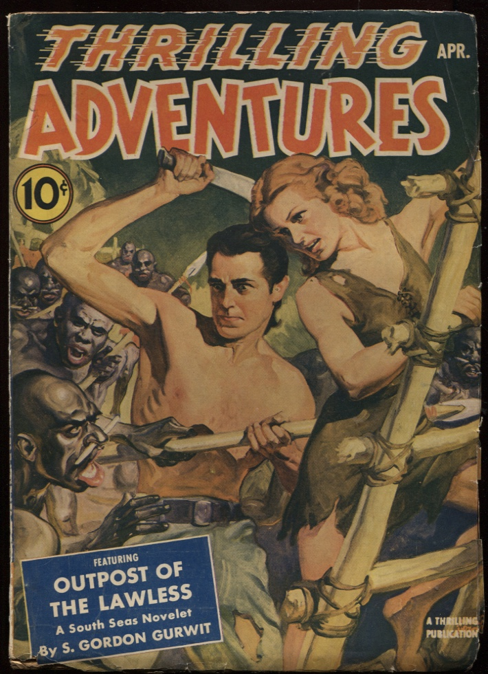 Image for Thrilling Adventures. 1941 April.