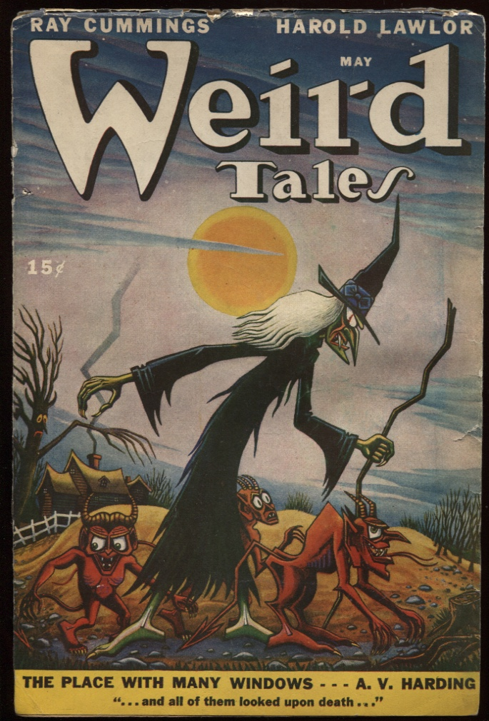 Image for Weird Tales 1947 May