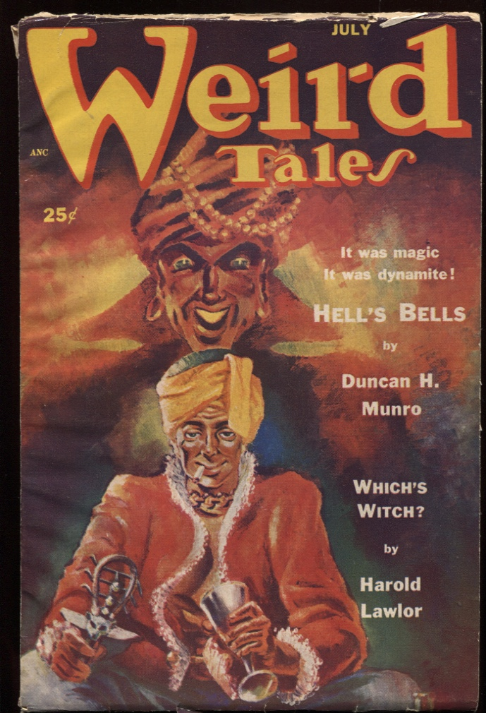 Image for Weird Tales 1952. July.