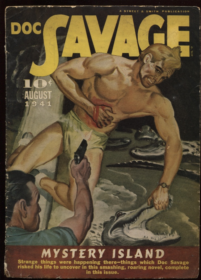 Image for Doc Savage. 1941 August.