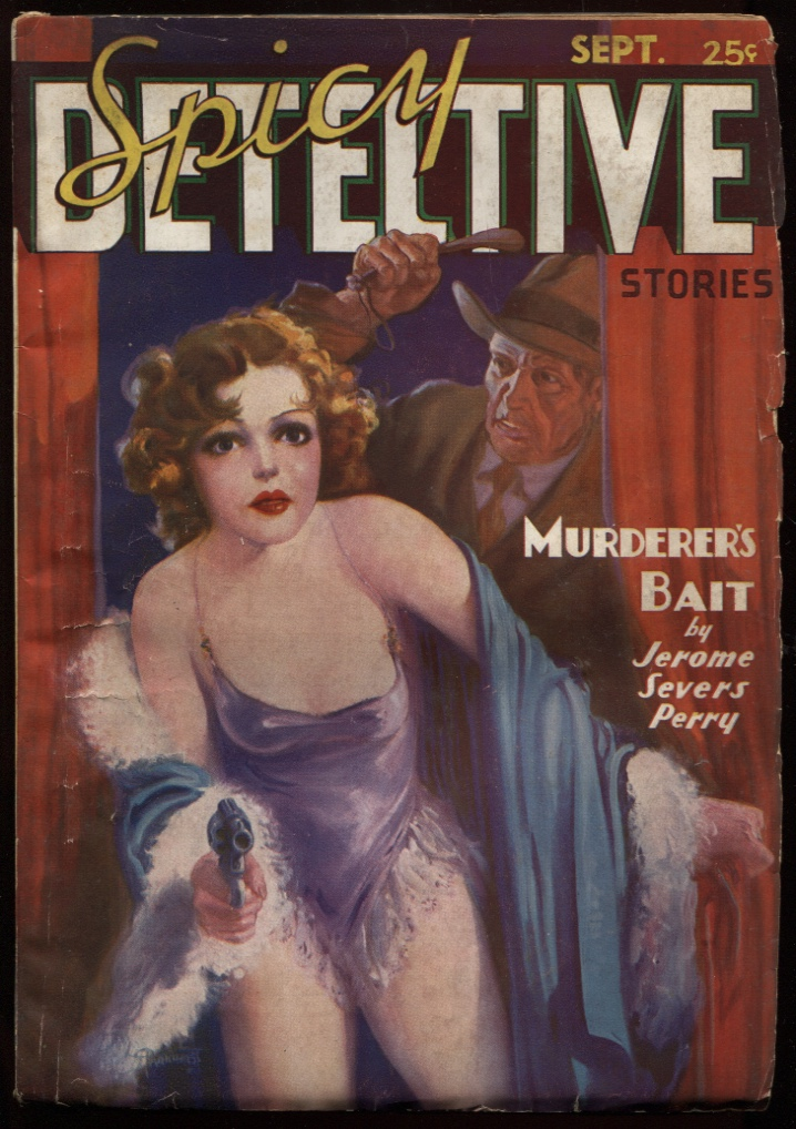 Image for Spicy Detective. 1936 September