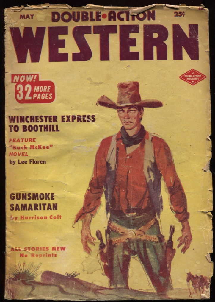 "Image for Double Action Western 1953 May. ""Winchester Express to Boothill."""