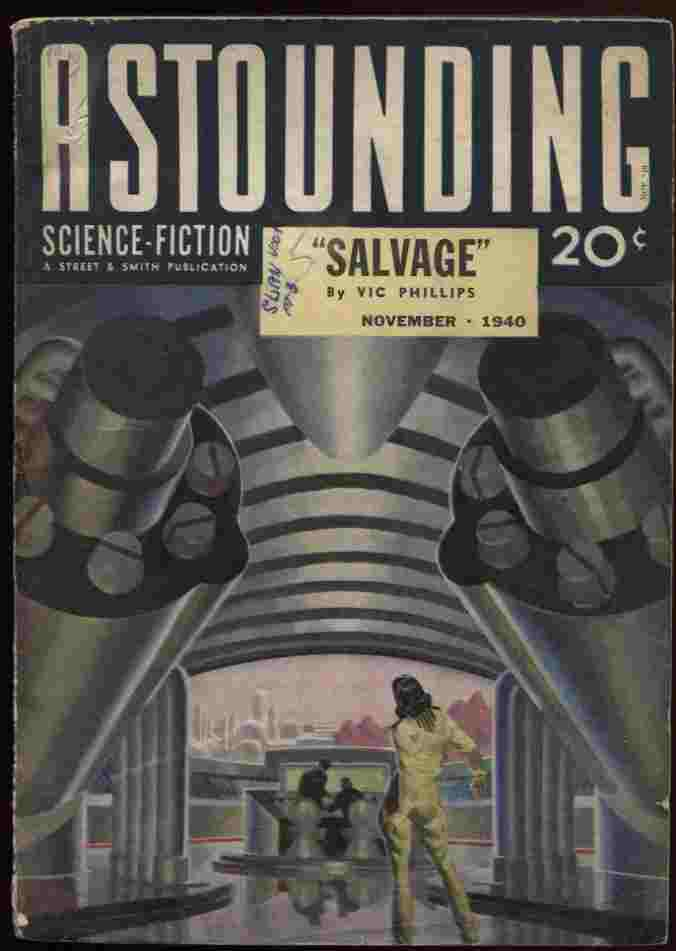 Image for Astounding Stories 1940 11 (Vol 26 #3) Slan, One Was Stubborn, Sunspot Purge