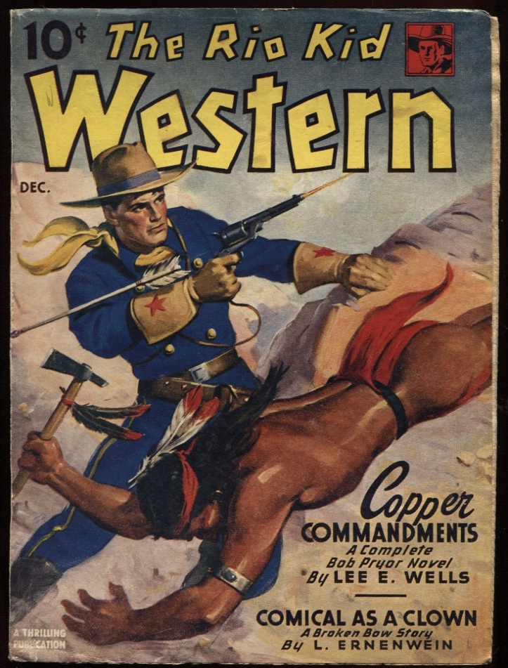 "Image for Rio Kid Western, The. 1946 December. ""Copper Commandments."""