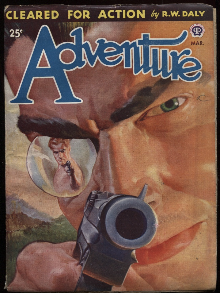 "Image for Adventure 1946 March. ""Obrien and Oberov"""