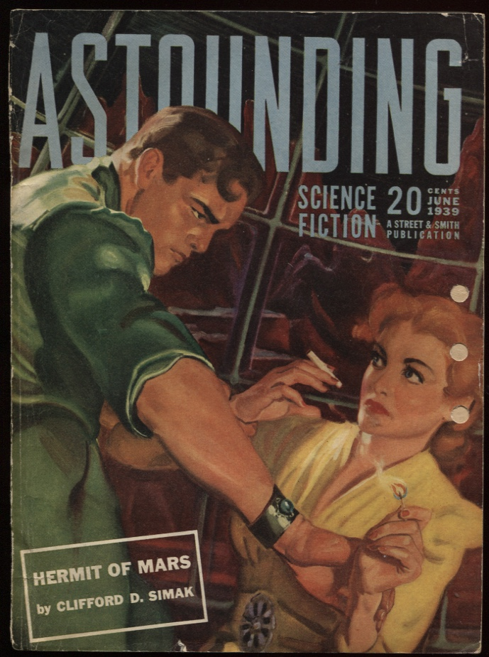 "Image for Astounding Stories 1939 June. ""Hermit of Mars"""