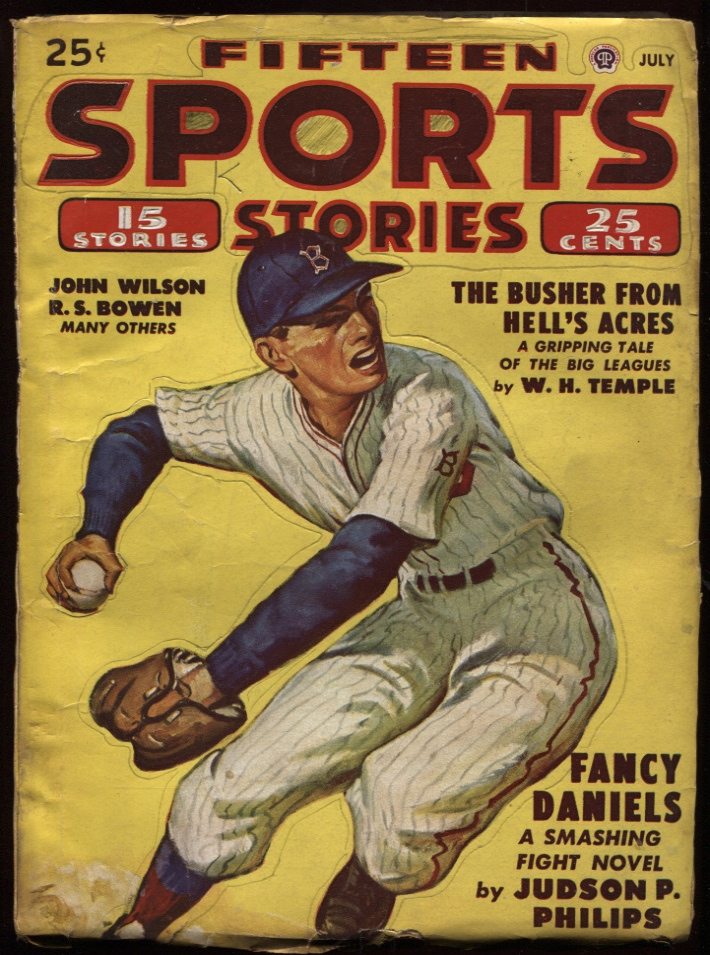 Image for Fifteen Sports Stories1948 July.