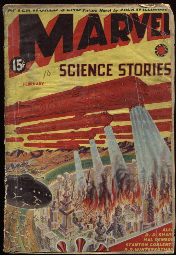 "Image for Marvel Science 1939 February. ""After World's End."""