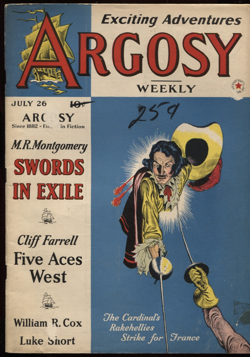 "Image for Argosy Weekly 1941 July 26. "" Five Aces West"""