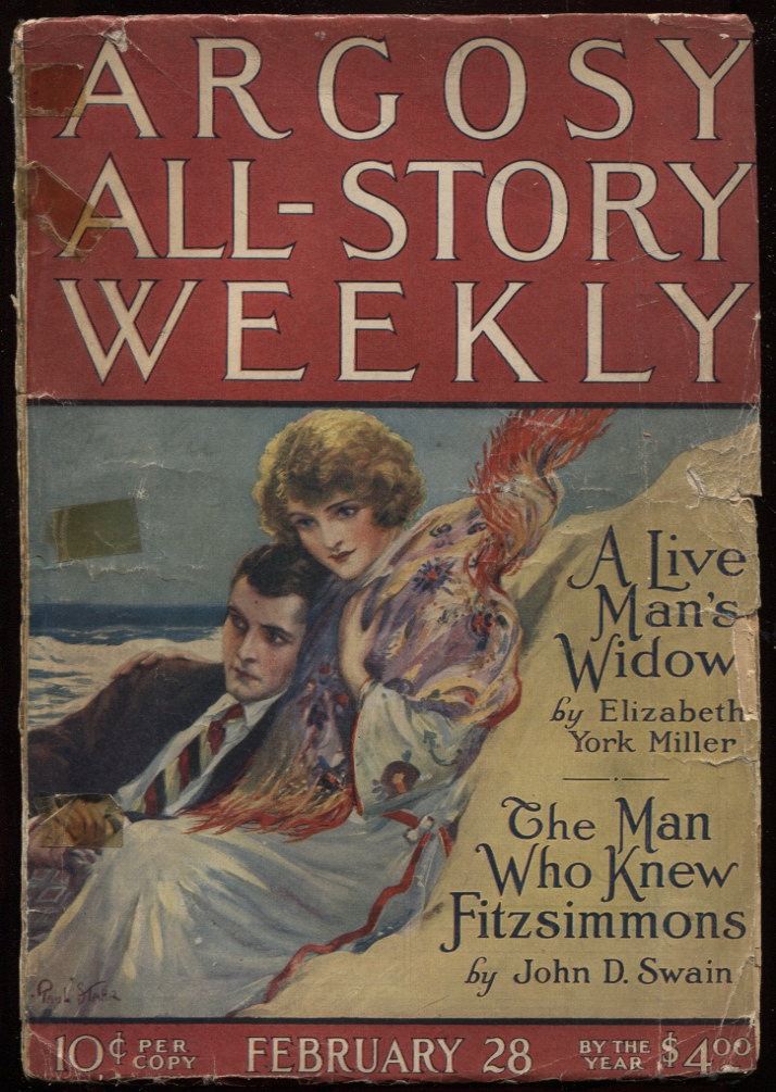 "Image for Argosy All-Story Weekly 1925 February 28. Contains "" the Moon Men"" Part 2"