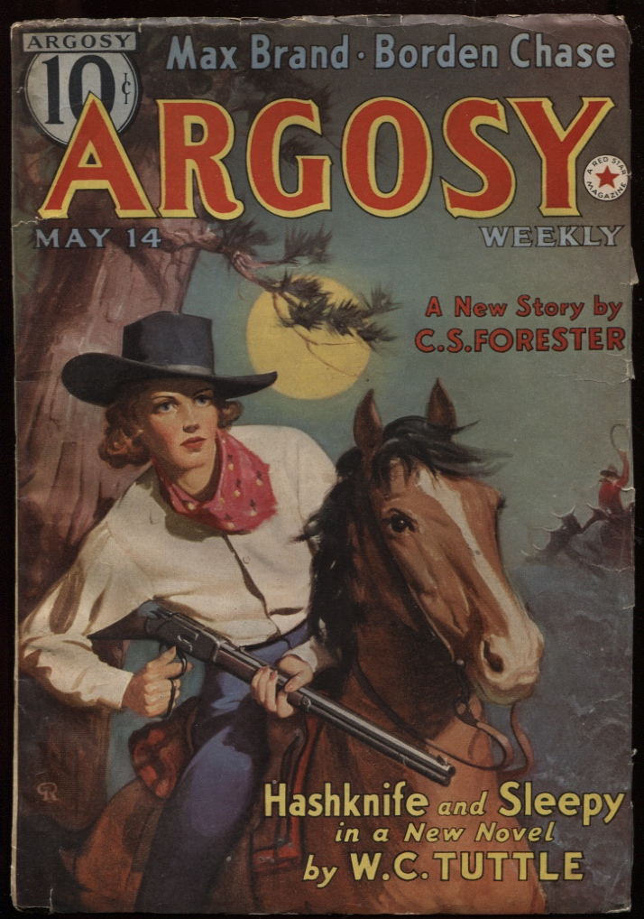 "Image for Argosy Weekly 1938 May 14. ""The Brand of Eve"""