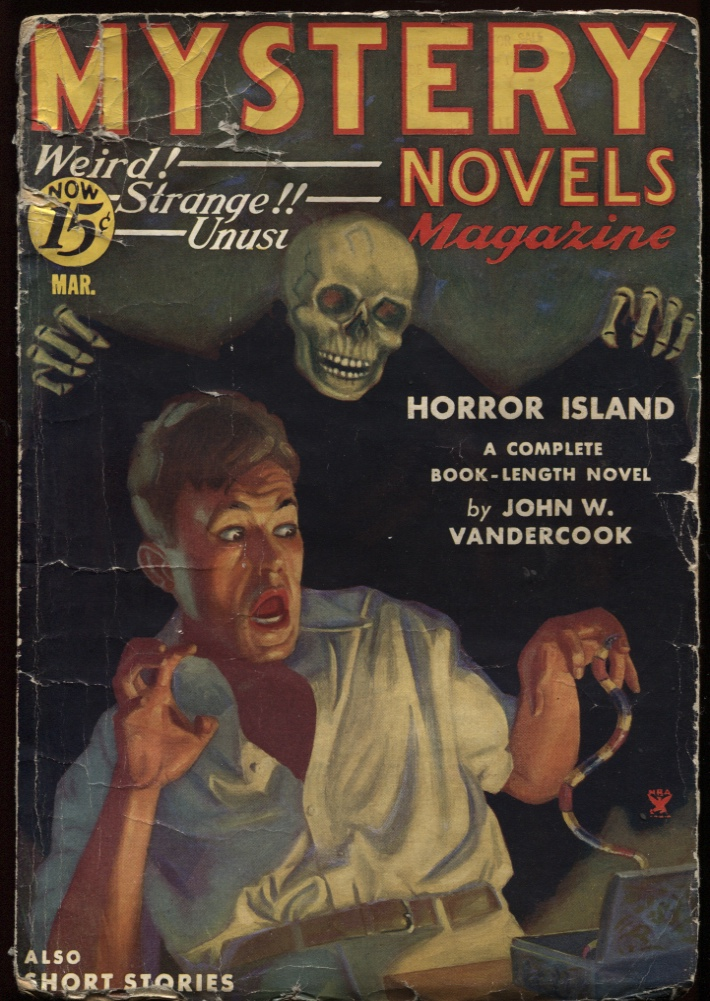 Image for Mystery Novels. 1935 March.