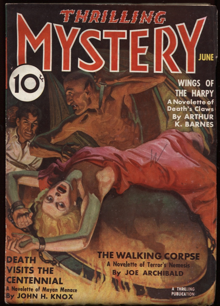 Image for Thrilling Mystery 1937 June.