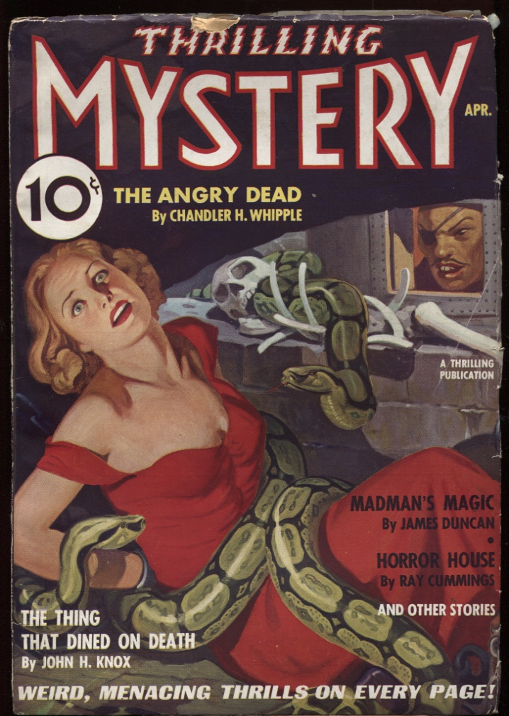 Image for Thrilling Mystery 1936 April.