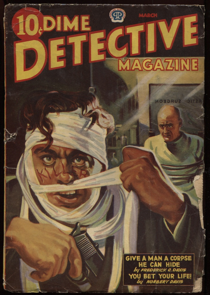 Image for Dime Detective1943 March.