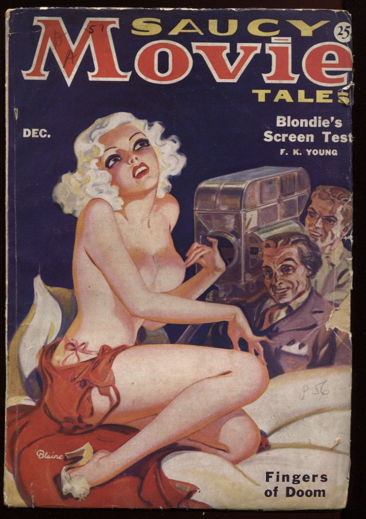 Image for Saucy Movie Tales 1935 December.