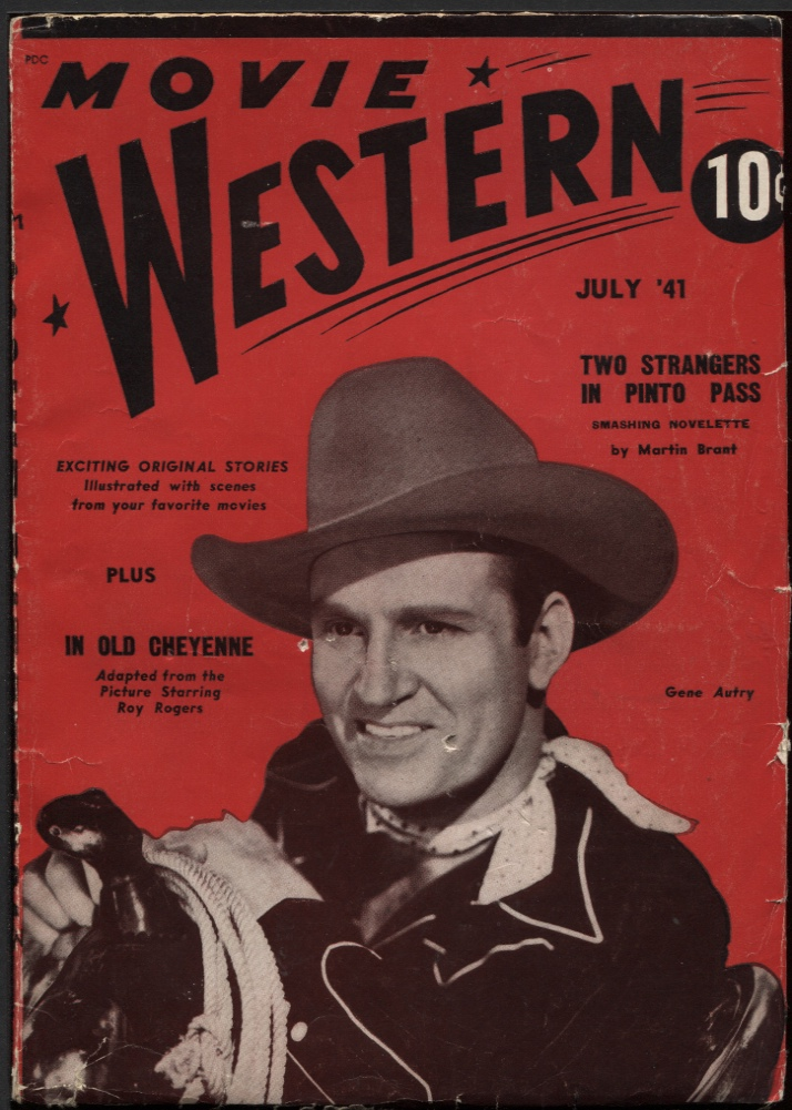 Image for Movie Western 1941 July #1.