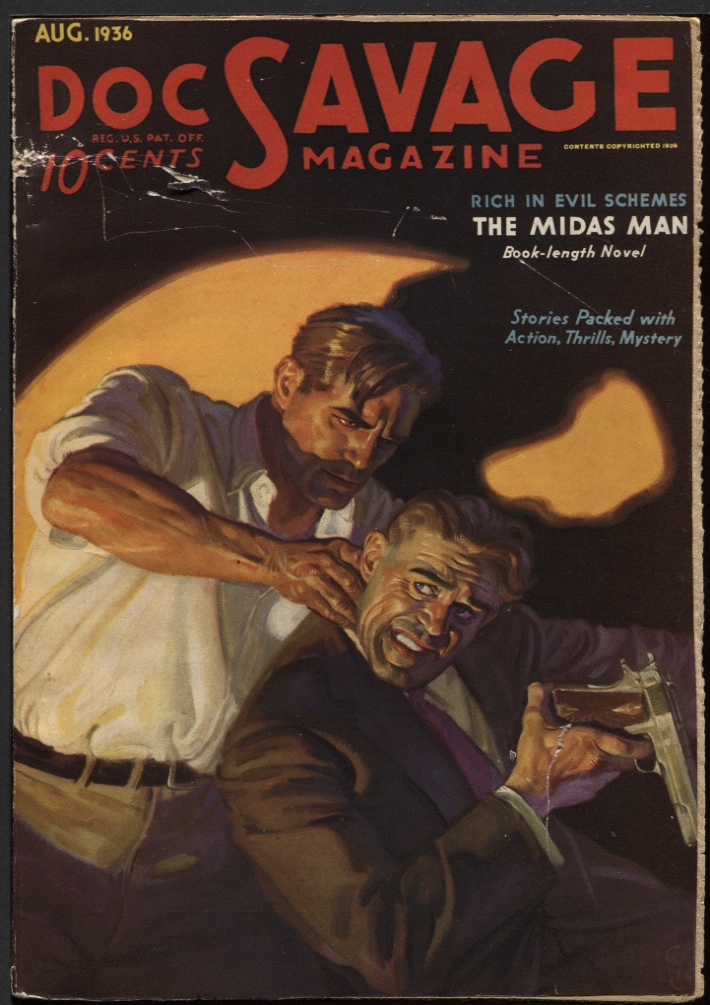Image for Doc Savage1936 August.