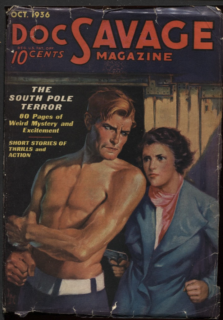 Image for Doc Savage 1936 October.