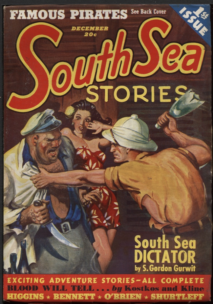 Image for South Sea Stories. December 1939 (#1)