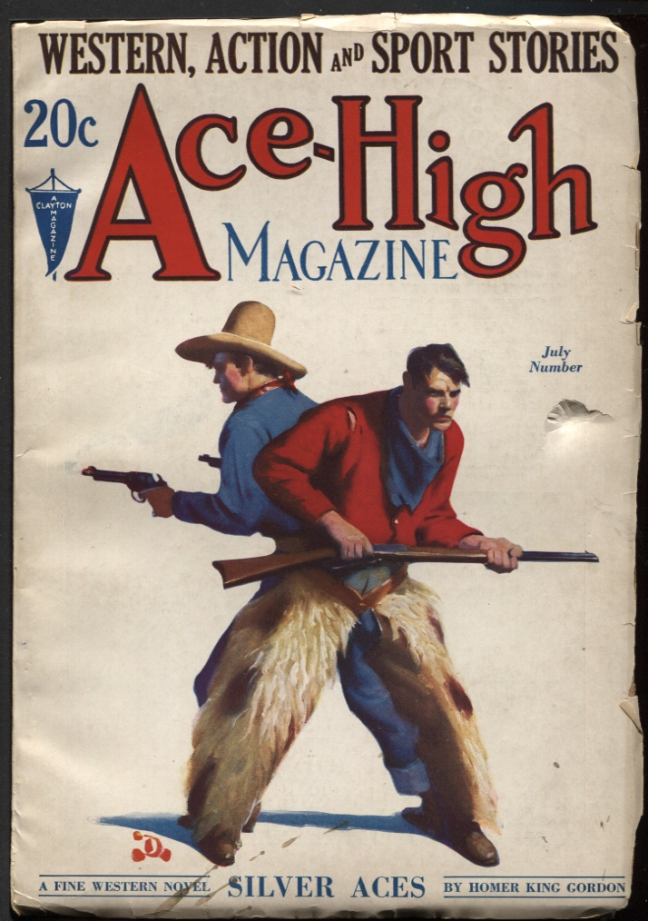 Image for Ace-High Magazine 1932 July.