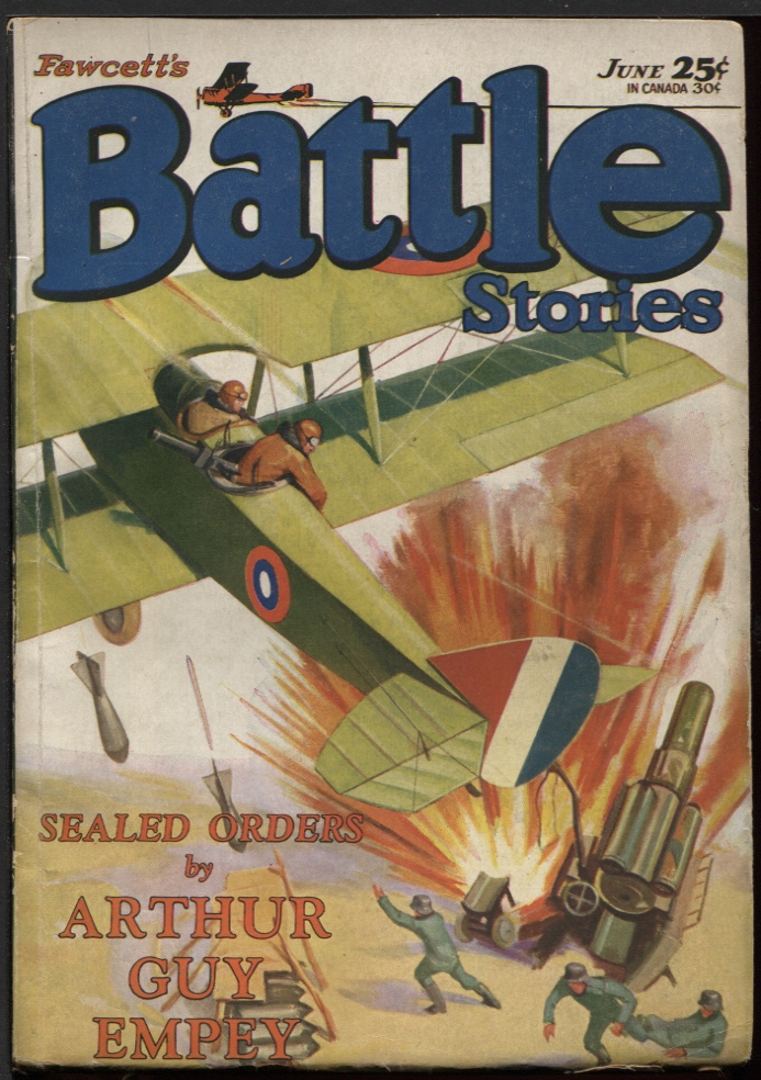 Image for Battle Stories 1930 June.
