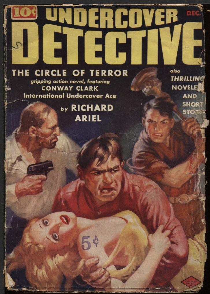 Image for Undercover Detective1938 December, #1.