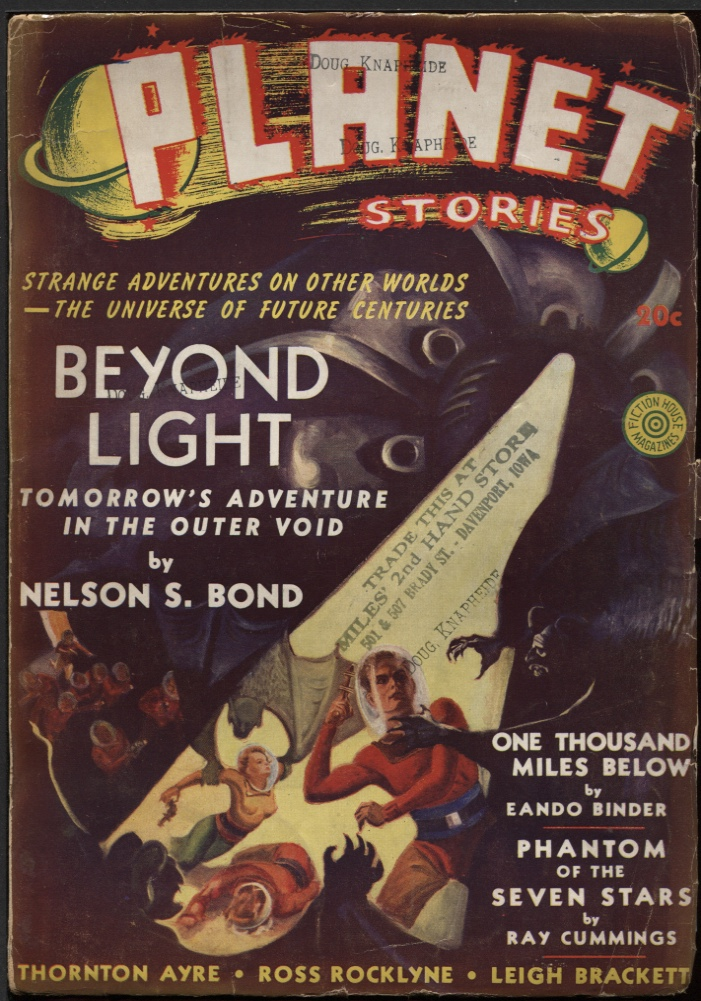 Image for Planet Stories 1940 Winter. #5