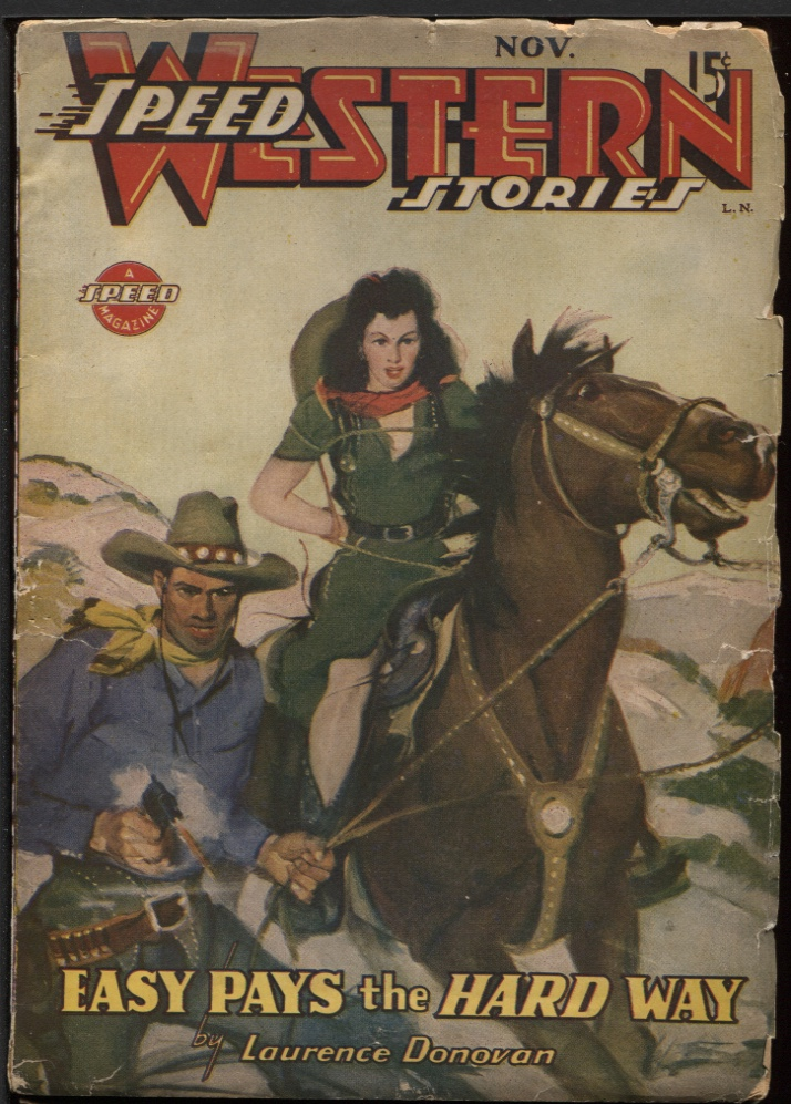 Image for Speed (Spicy) Western 1944 November.