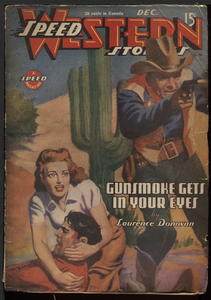 Image for Speed (Spicy) Western 1944 December.