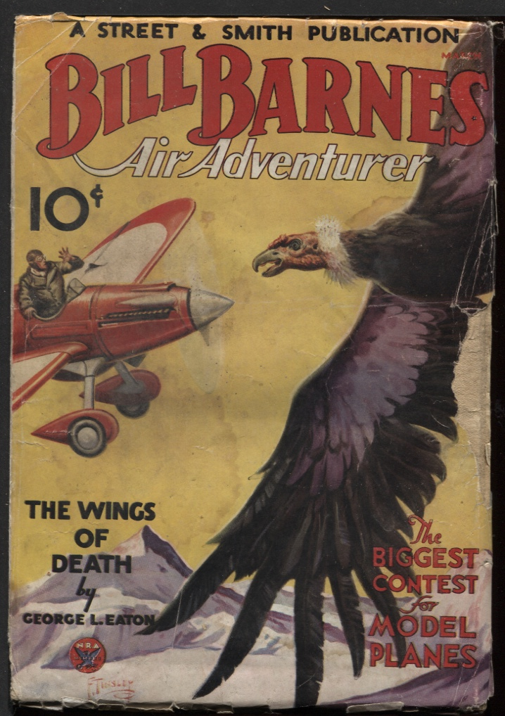 Image for Bill Barnes Air Adventurer 1934 March. #2.