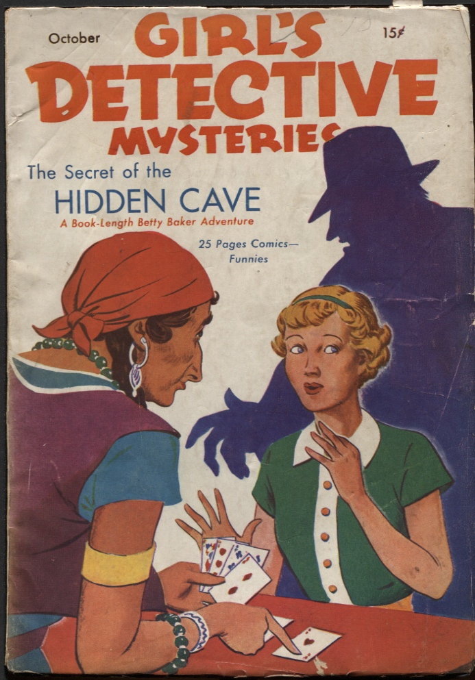 Image for Girl's Detective Mysteries1936 October. #1.