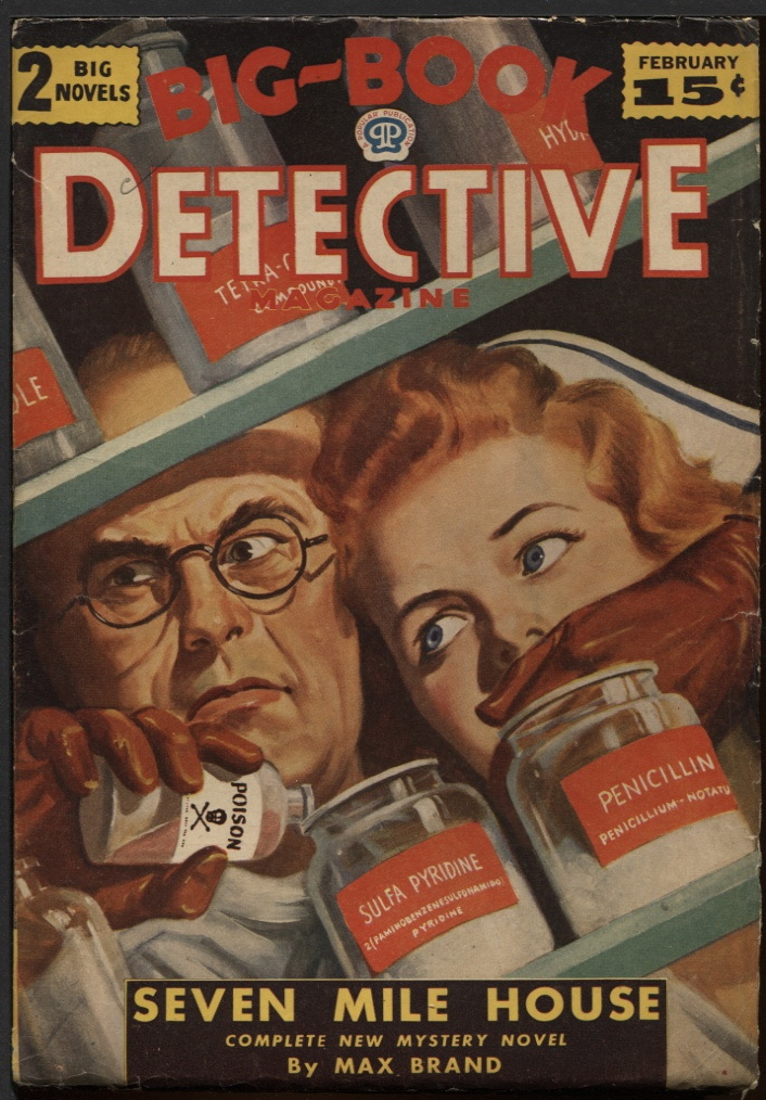 Image for Big Book Detective 1945 February.